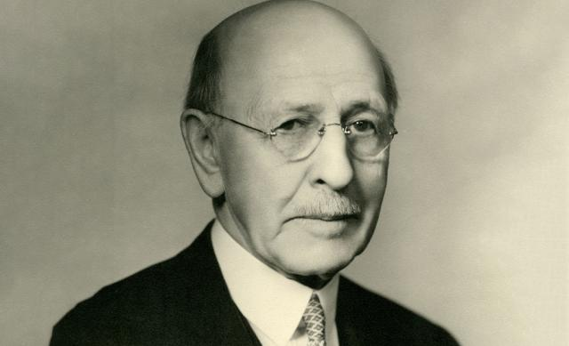 Photo of former Ohio State president William McPherson