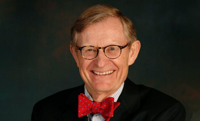 Photo of former Ohio State president E. Gordon Gee