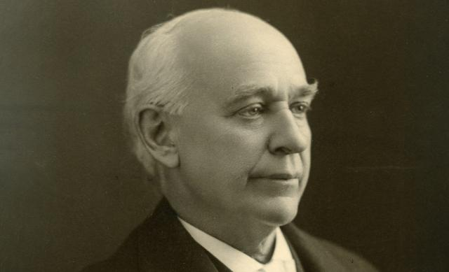 Photo of former Ohio State president Edward Frances Baxter Orton, Sr