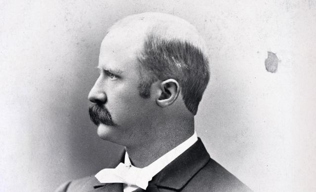 Photo of former Ohio State president Walter Quincy Scott