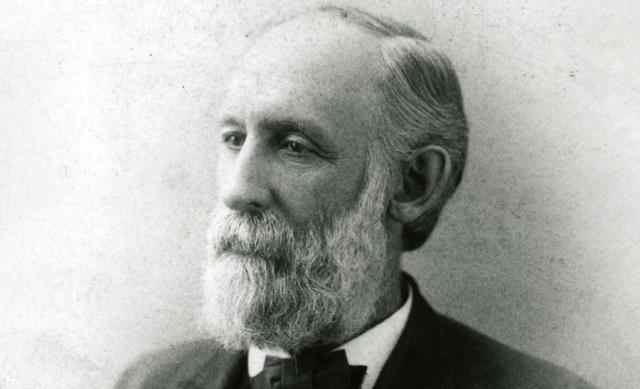 Photo of former Ohio State president William Henry Scott