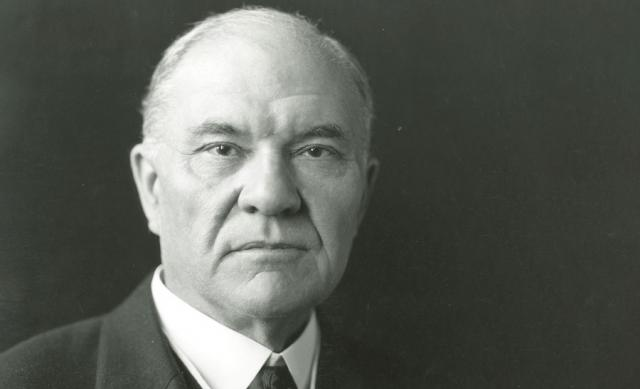 Photo of former Ohio State president William Oxley Thompson