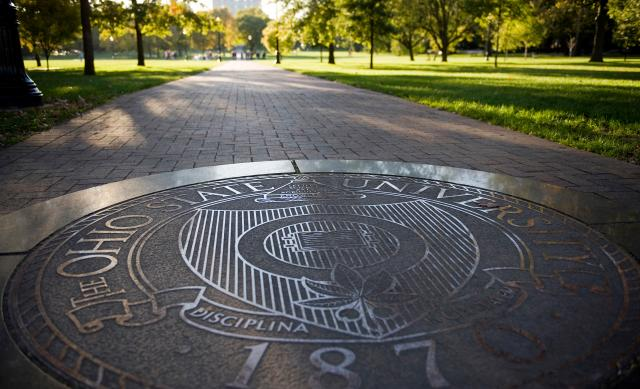 Photo of the seal on the Oval